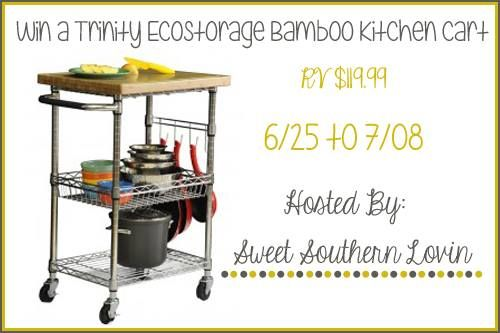 Trinity EcoStorage Bamboo Cart Giveaway