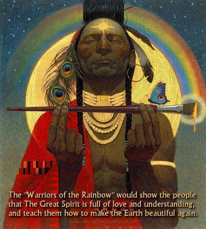 Hopi Prophecy Rainbow