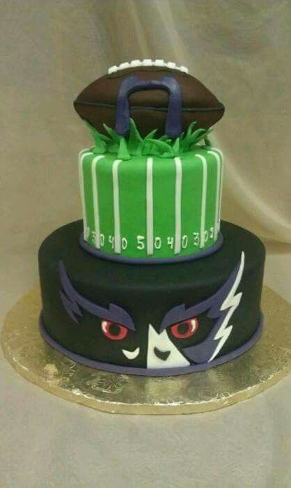 Baltimore Ravens Football Cake Sports Pinterest Cake and