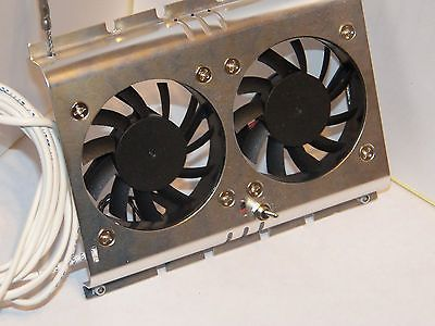 Dometic Refrigerator Fan To Increase Cooling Inside Deluxe Custom Built Light Trailer Camper Storage Rv Stuff