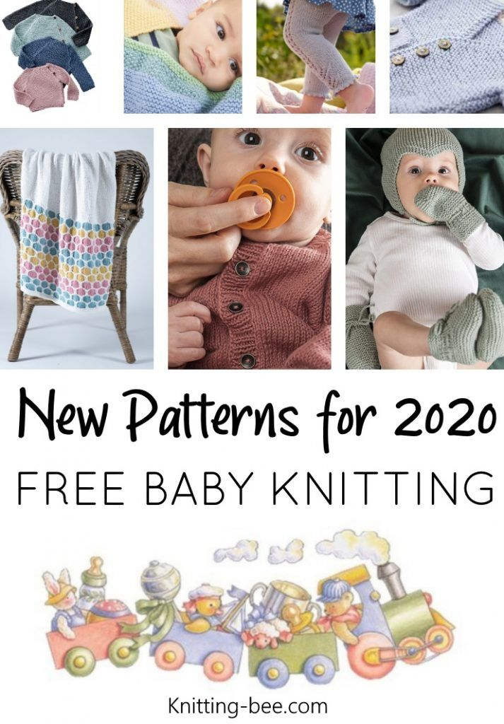 50+New Baby Knitting Patterns Free for 2020