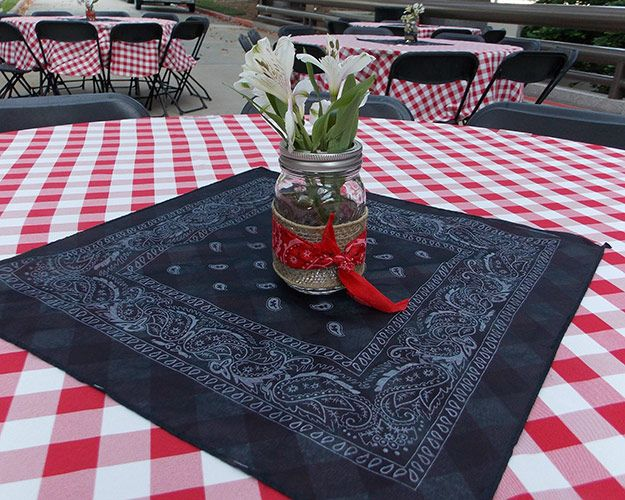 Country party decor ideas