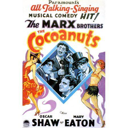 The Cocoanuts Canvas Art - (24 x 36)