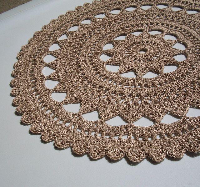 Thread Crochet Doilies Crochet For Beginners Crochet Pinterest
