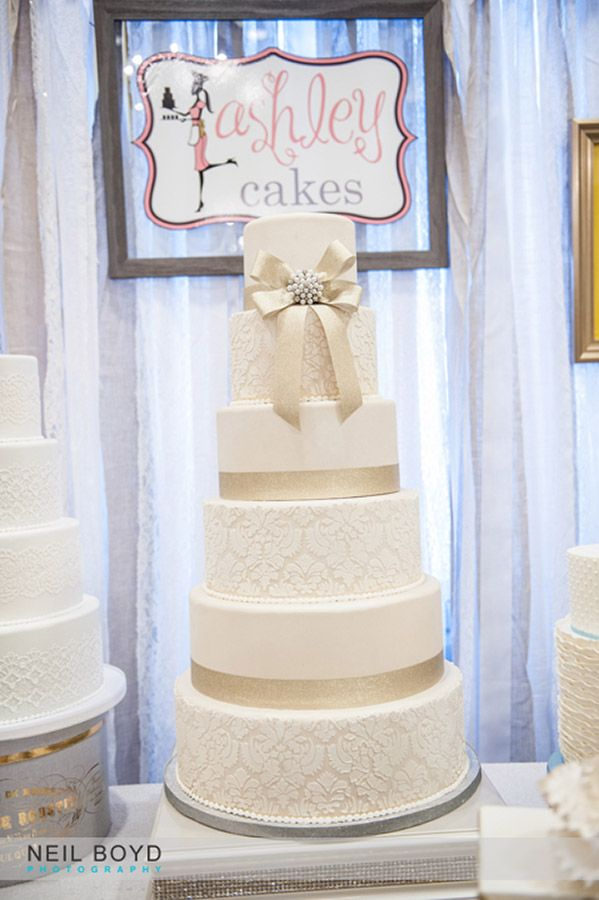 Ashley Cakes In Raleigh, NC. Wedding Cake. Raleigh Weddings. Neil Boyd  Photography
