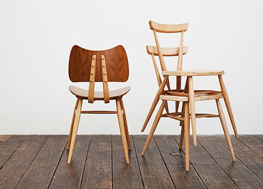 Margaret Howell Ercol Chairs - love a good stackable