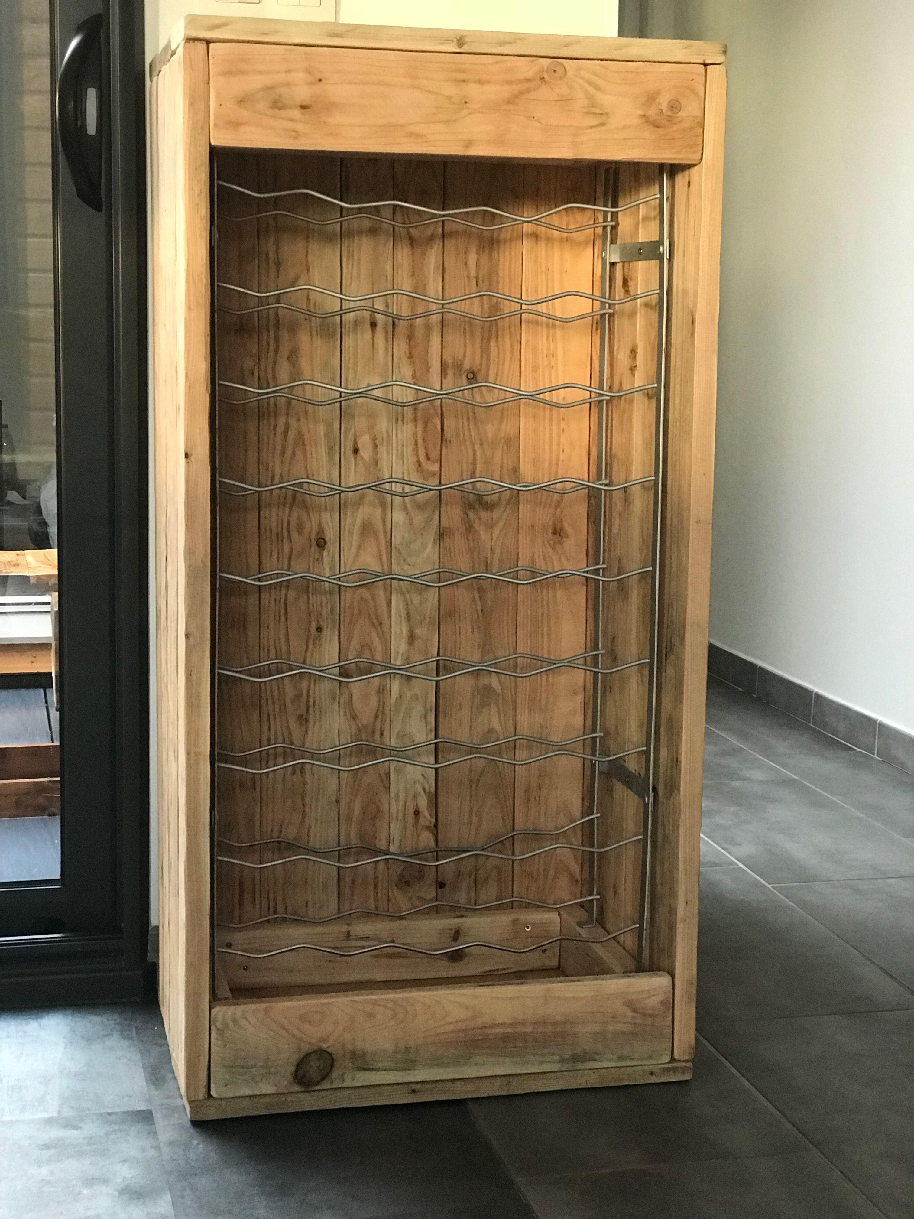 Armoire  vin meuble  de rangement pour bouteilles de vins