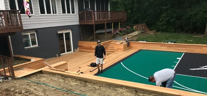 Have You Ever Seen Ipe Decking at a Basketball Court ...