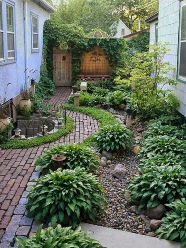 Fascinating Backyard Garden Design