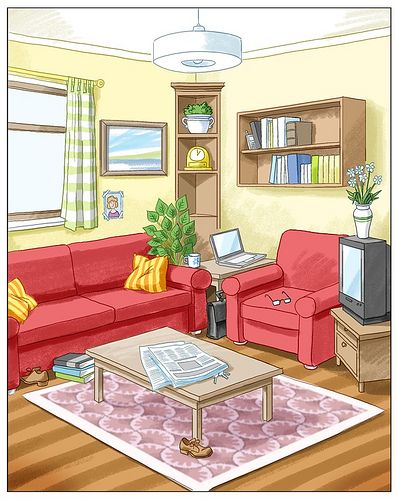 Living room spanish vocabulary euskal french furniture net for Living room in spanish