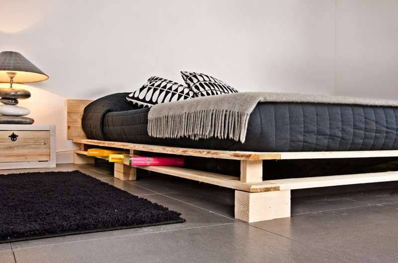 Costruire Un Letto In Legno Massello : Realizzare un letto con i pallet for the home fai