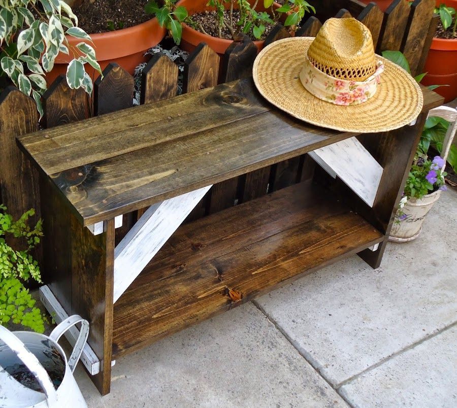 Farmhouse Style Garden Bench - Available $175