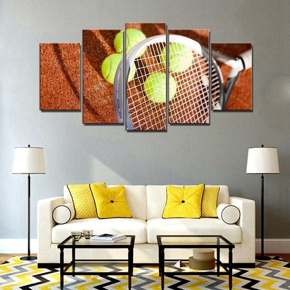 Tennis Sport 2 Sport Canvas Wall Art Sport Canvas Canvas Wall Art Wall Art