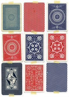 Vintage Playing Cards Designs