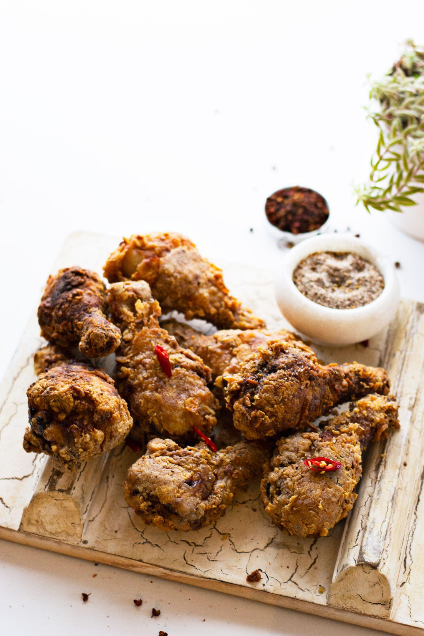 Asian style Fried Chicken Drumsticks Fried chicken