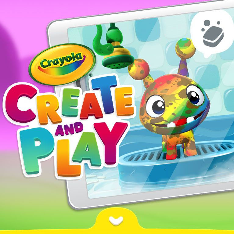Crayola Create and Play App Logo Educational apps for
