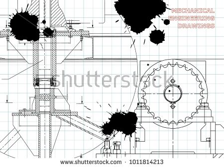 Engineering backgrounds mechanical engineering drawings blueprints engineering backgrounds mechanical engineering drawings blueprints cover technical design draft black ink blots bubushonok art bubushonok malvernweather Image collections