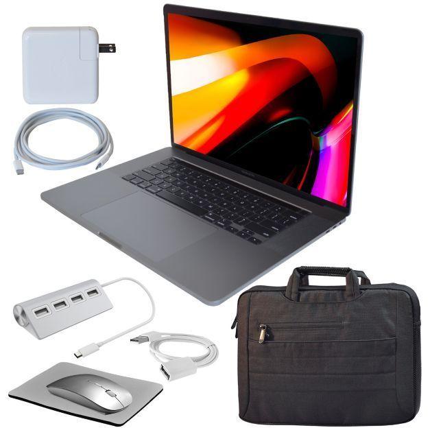 "2019 Apple Macbook Pro 16"" 1TB Retina Touch BarBundle - QVC.com"