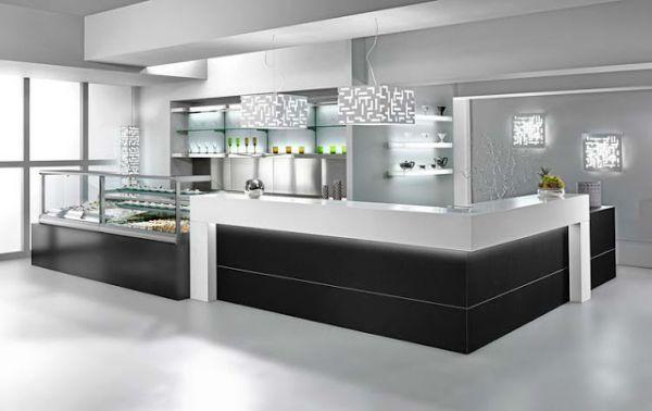 Banco Bar Moderno Modello Manhattan Degart Bar Angolo