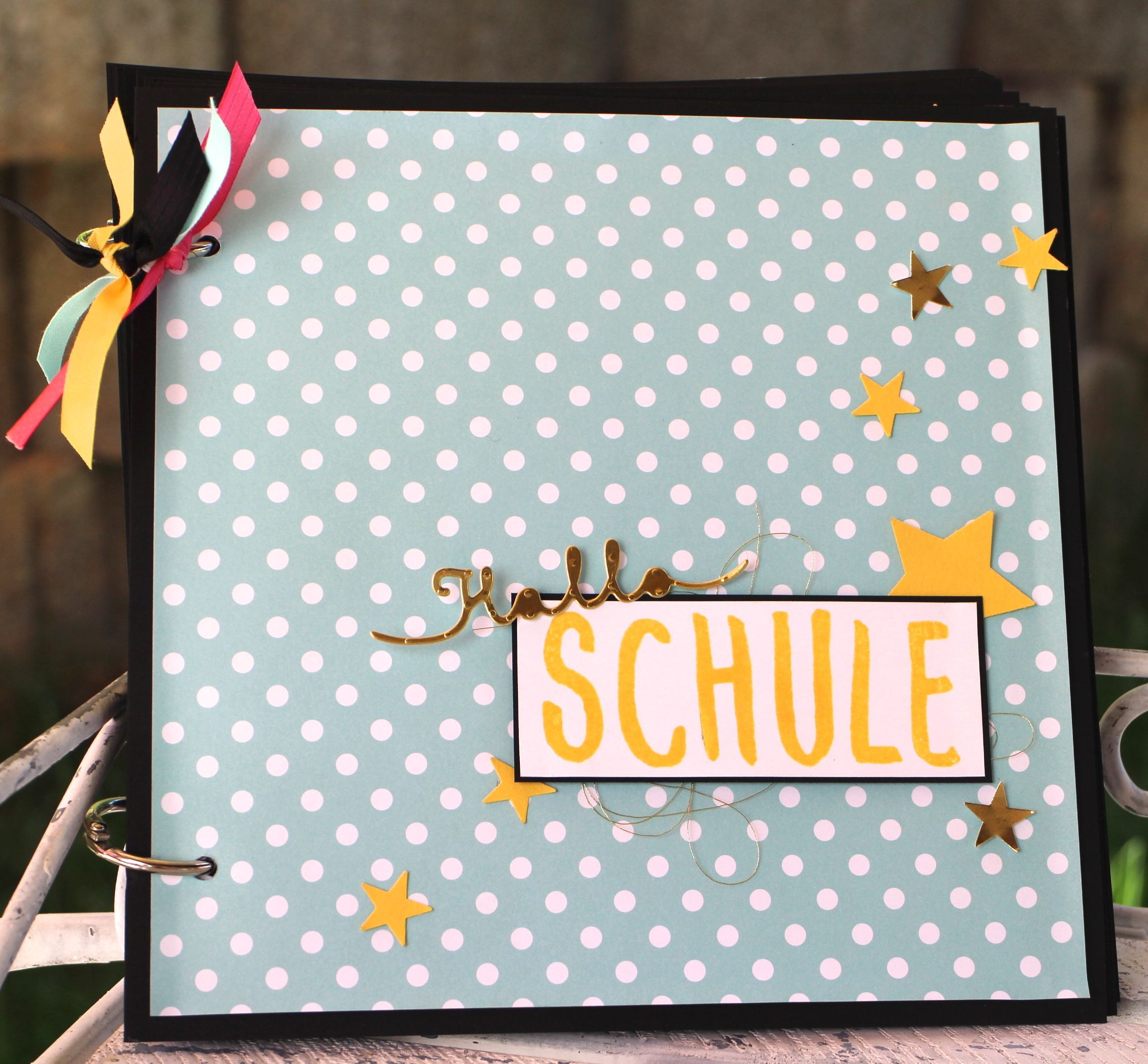 Album Gestalten Minialbum Quothallo Schule Quot Stampin Up Artisan Bloghop