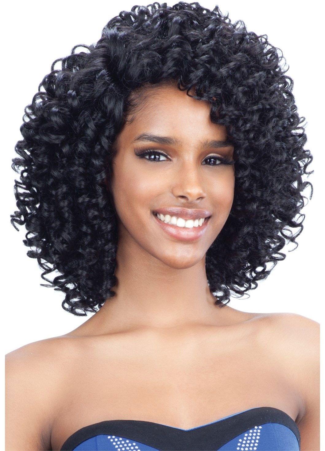 Model Model Extreme Side LPart Wig ATLAS Braided