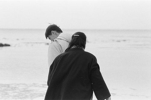 老照片 - 海邊
