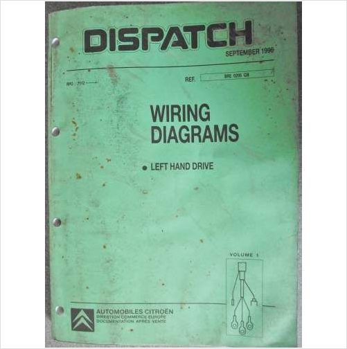 Citroen Dispatch Wiring Manual S Vol 1 Amp 2 Lhd Bre0205gb On Ebid United Kingdom Manual Ebay Online Marketplace