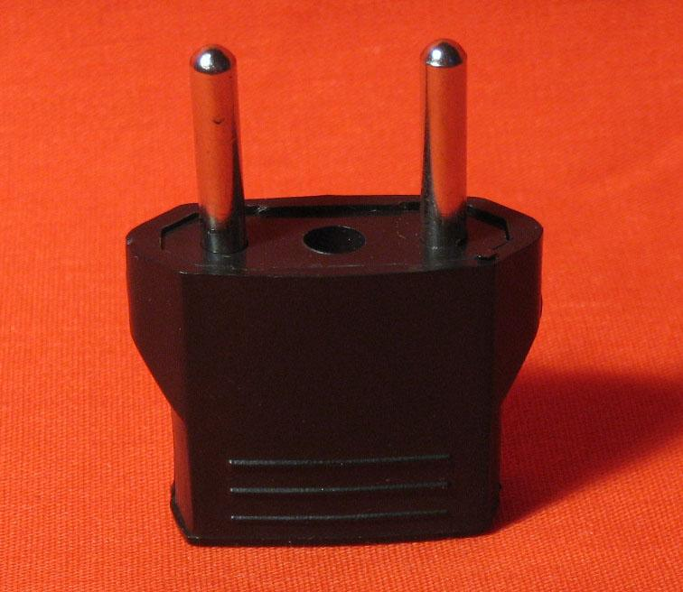 Power Converter Plug Adapter Travel USA Europe Convert US