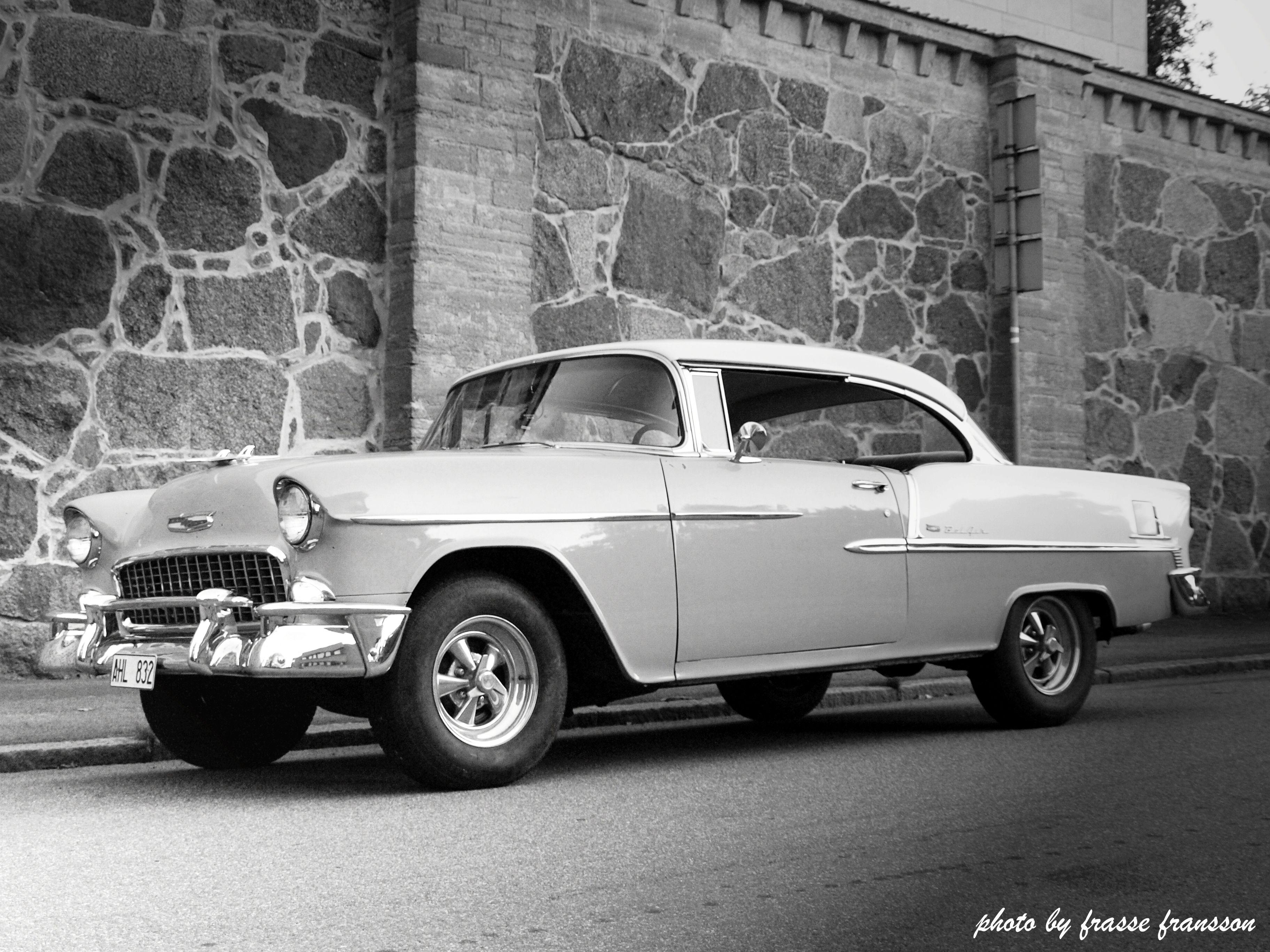 Chevrolet Bel Air 2d Ht 1955 Dreams on wheels