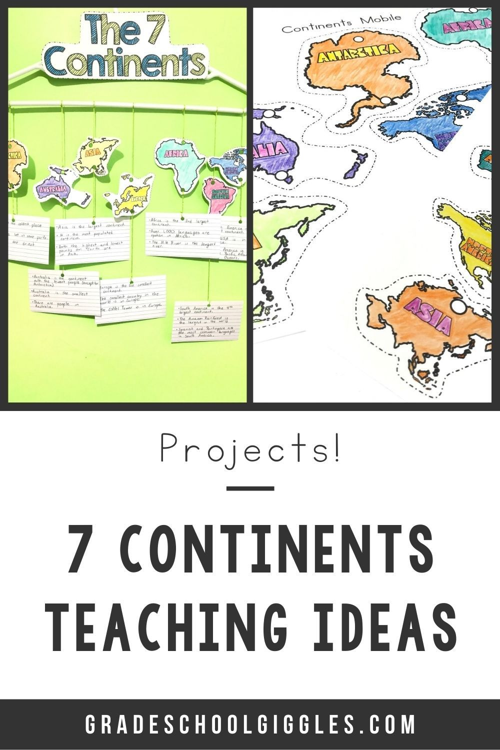 How To Make An Easy 7 Continents Necklace With Your Kids Grade School Giggles Third Grade Social Studies Projects Continents Activities Third Grade Social Studies [ 1500 x 1000 Pixel ]