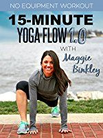 Photo of Amazon.com: Watch 15-Minute Yoga Flow 1.0 Workout   Prime Vi…