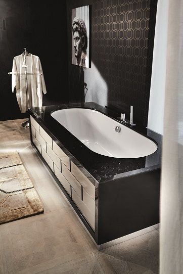 monaco bathtub milldue mitage - h&h dubai | bathrooms | bathtubs