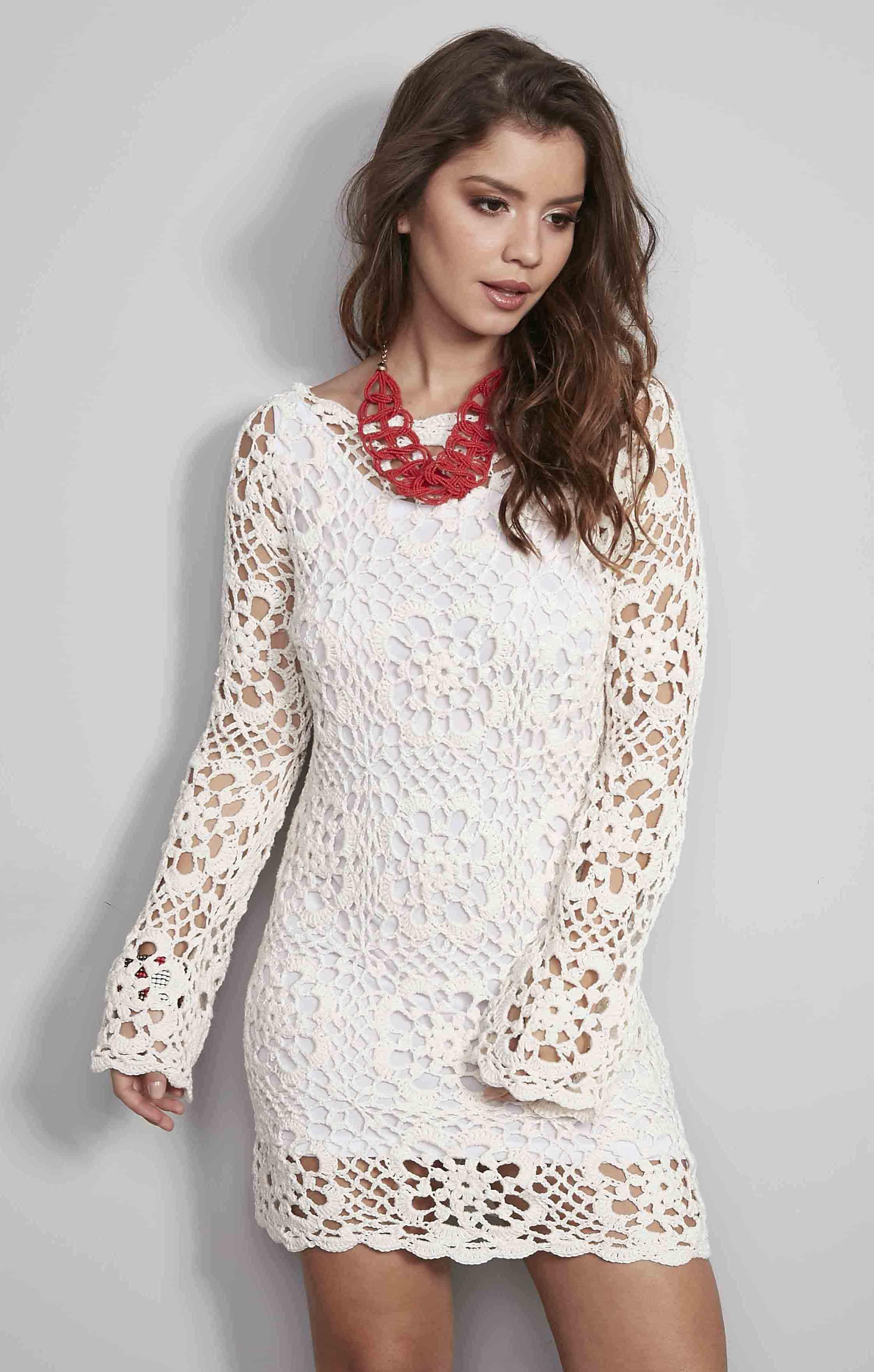 dffd78146 Receitas Círculo - Vestido Motivos Anne Natural
