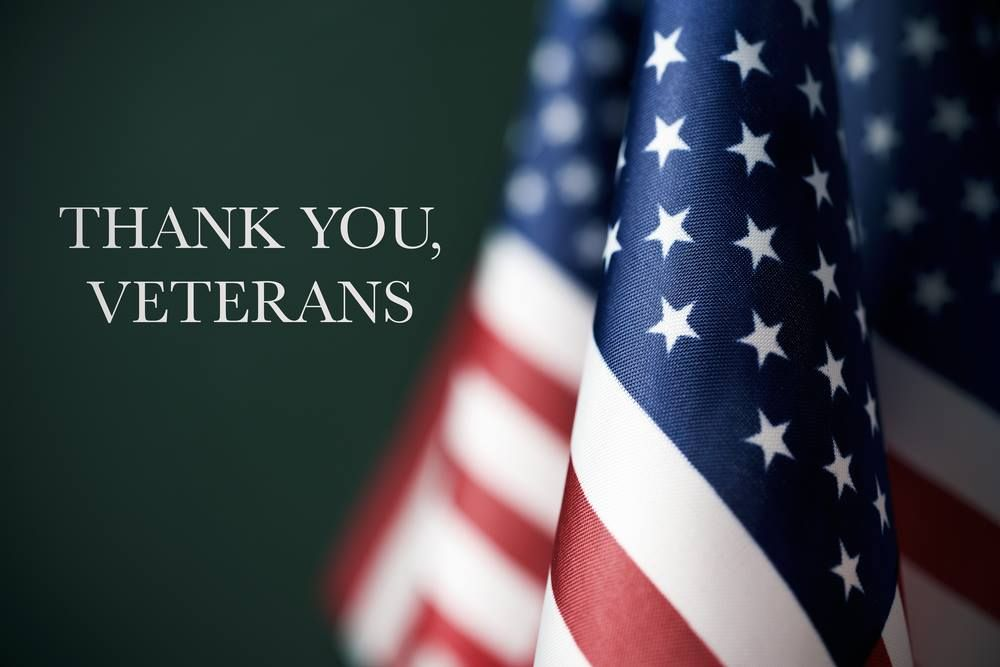 We will always honor our veterans who have served and gave
