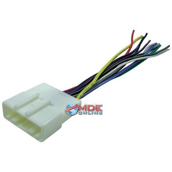 Scosche Radio Wiring Harness for 2007-Up Nissan Car Stereo Connector ...
