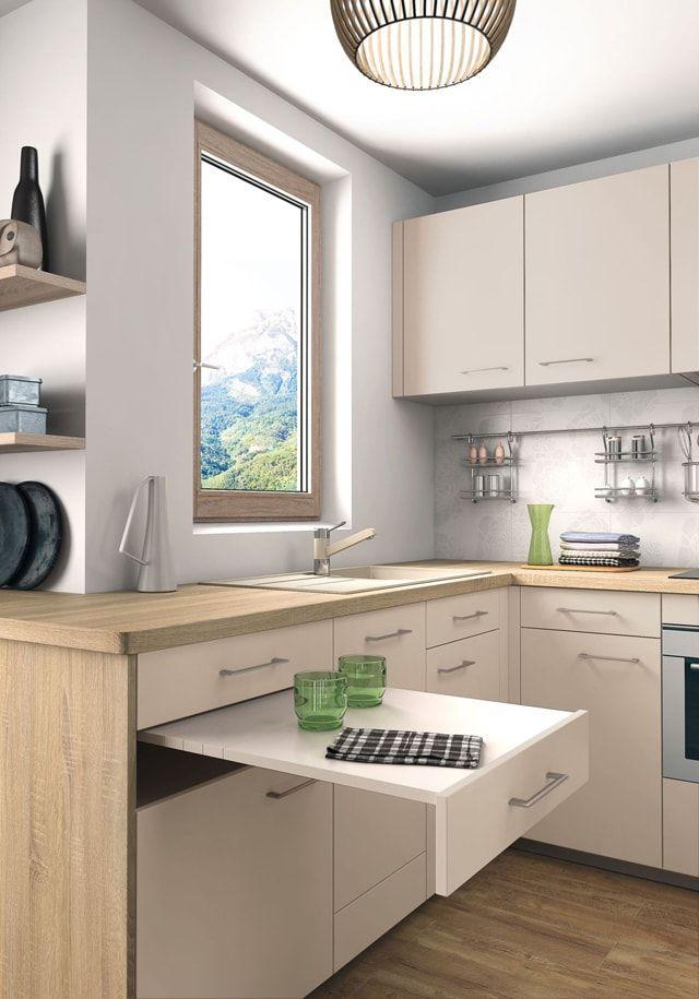 cocina cosinas Pinterest Ideas para, Kitchens and Small spaces
