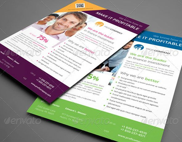 InDesign Flyer Templates For Business Flyer Template - Free brochure templates indesign