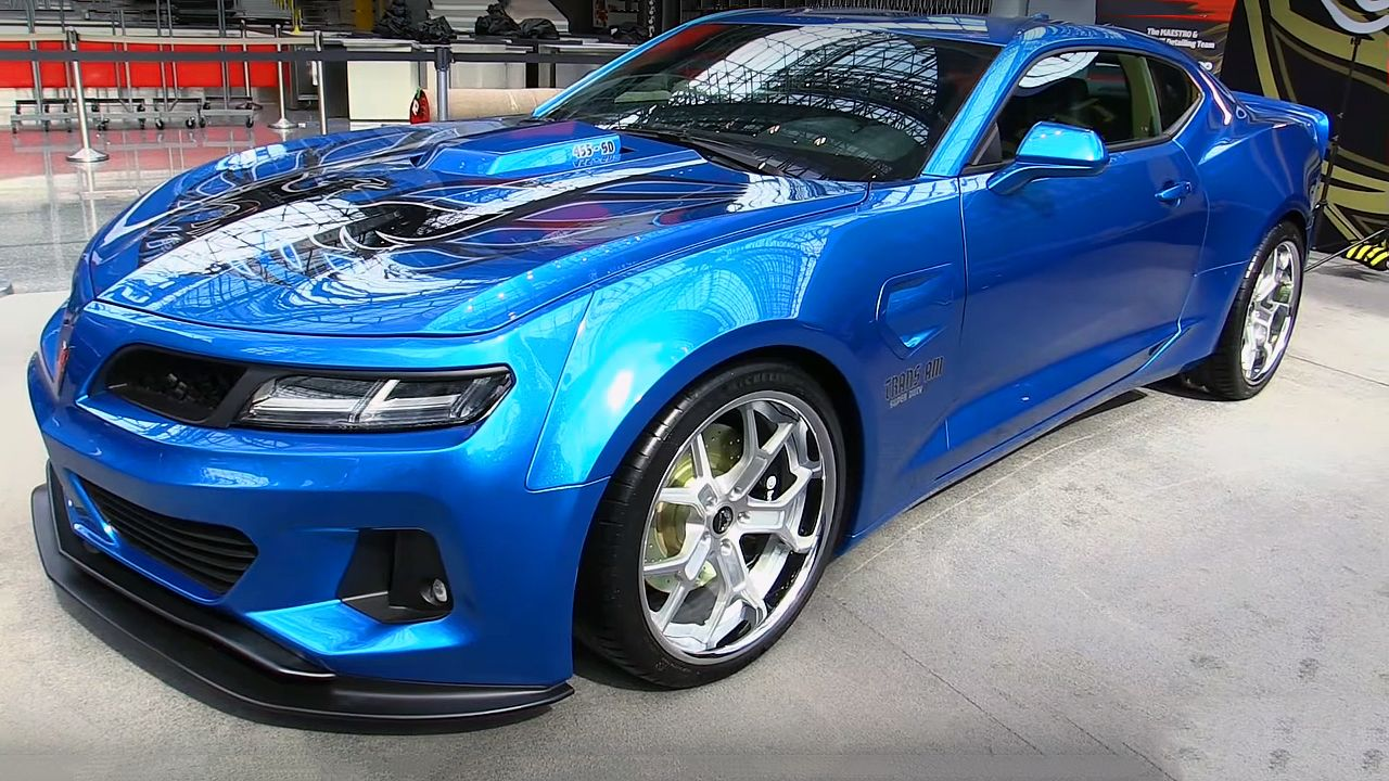 The New 2017 Trans Am 455 Super Duty With 1000 Horsepower In
