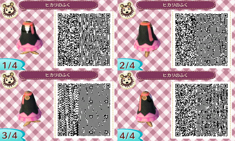 Qr Codes Kimono All Female Pokemon Outfits Qr Codes Animal