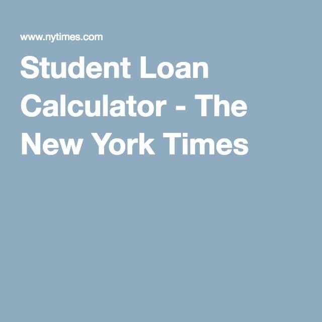 Student Loan Calculator Student loan calculator, Calculator and - google spreadsheet mortgage calculator