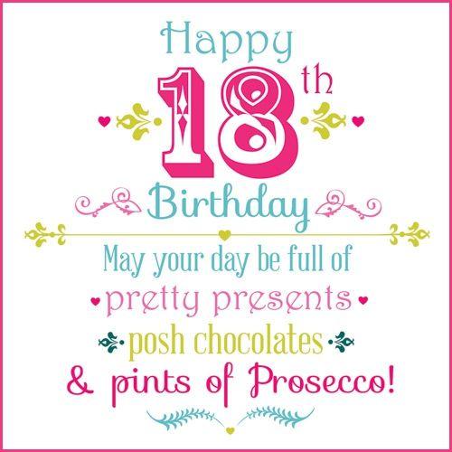 18 Jaar Gefeliciteerd Verjaardag