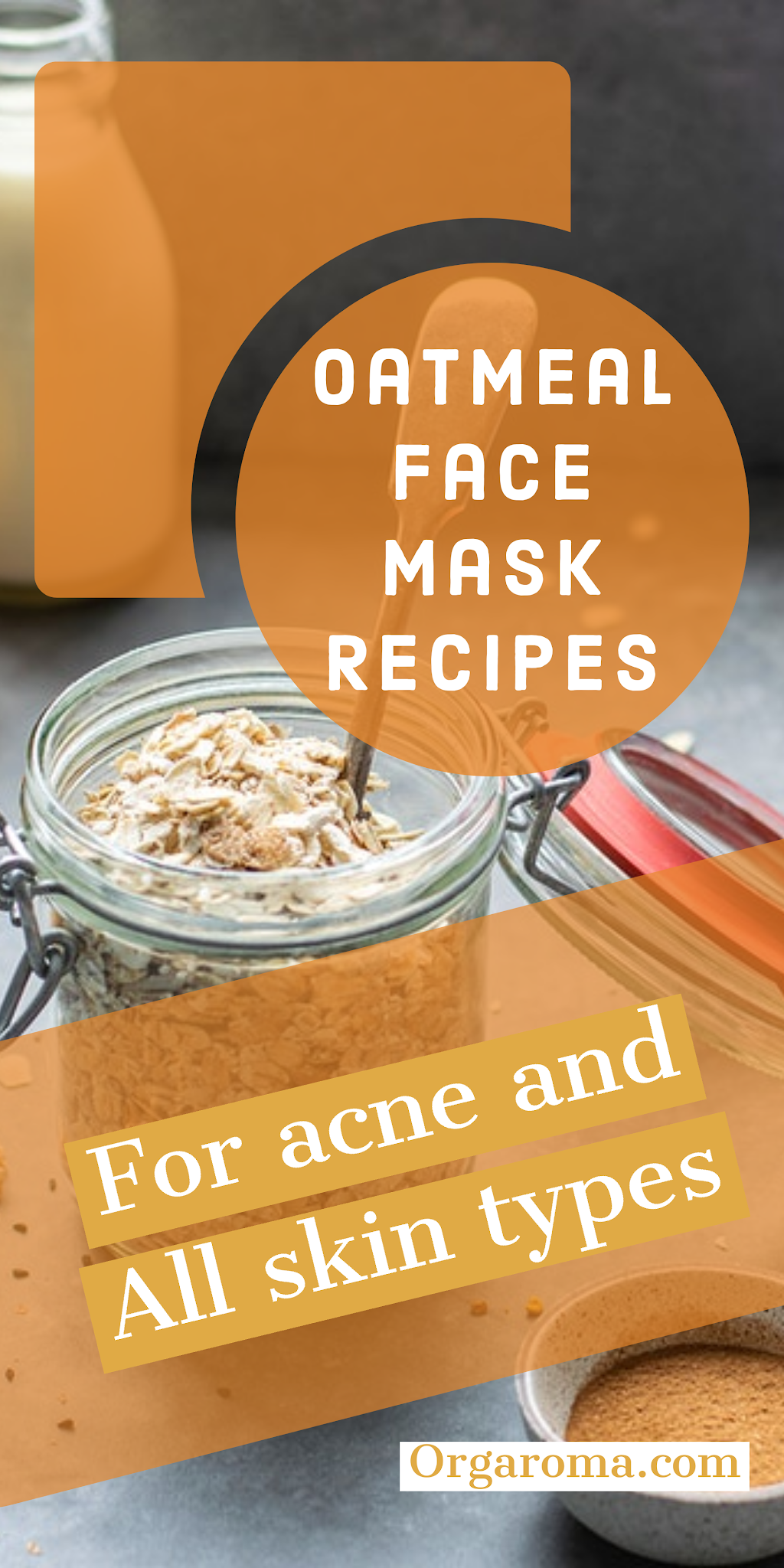 Diy Oatmeal Face Mask For Acne And All Skin Types Mask Diyfacemask In 2020 Oatmeal Face Mask Diy Oatmeal Face Mask Face Mask Recipe