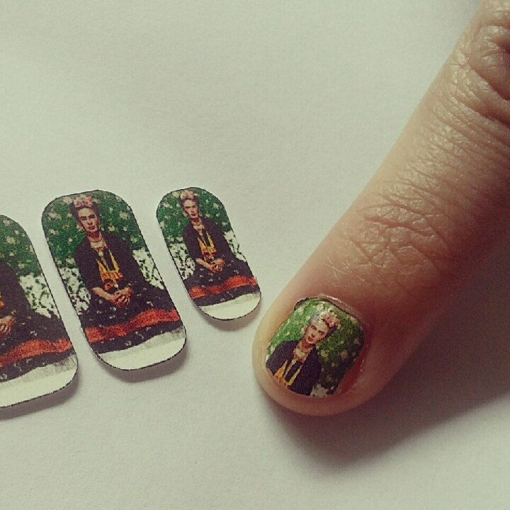 Frida Kahlo Vogue Cover Nail Decals. $6.00, via Etsy. | love that ...