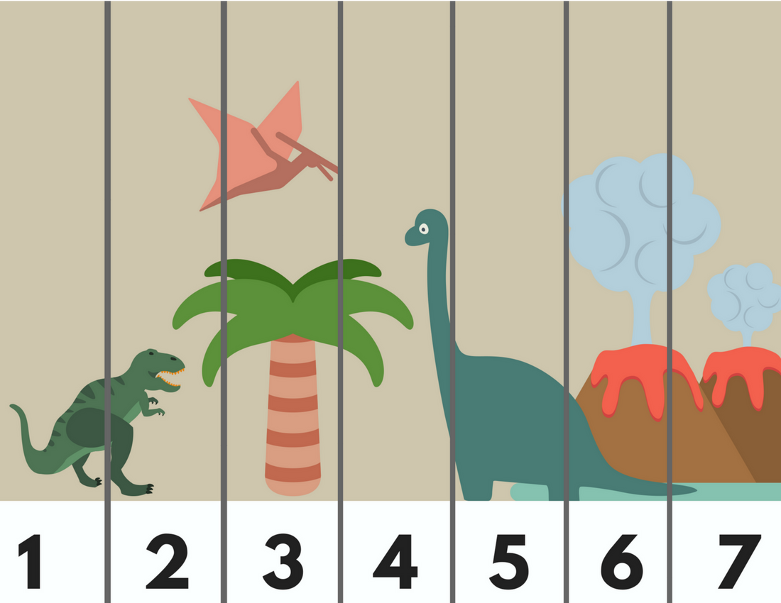 Dinosaur Sequence Puzzle