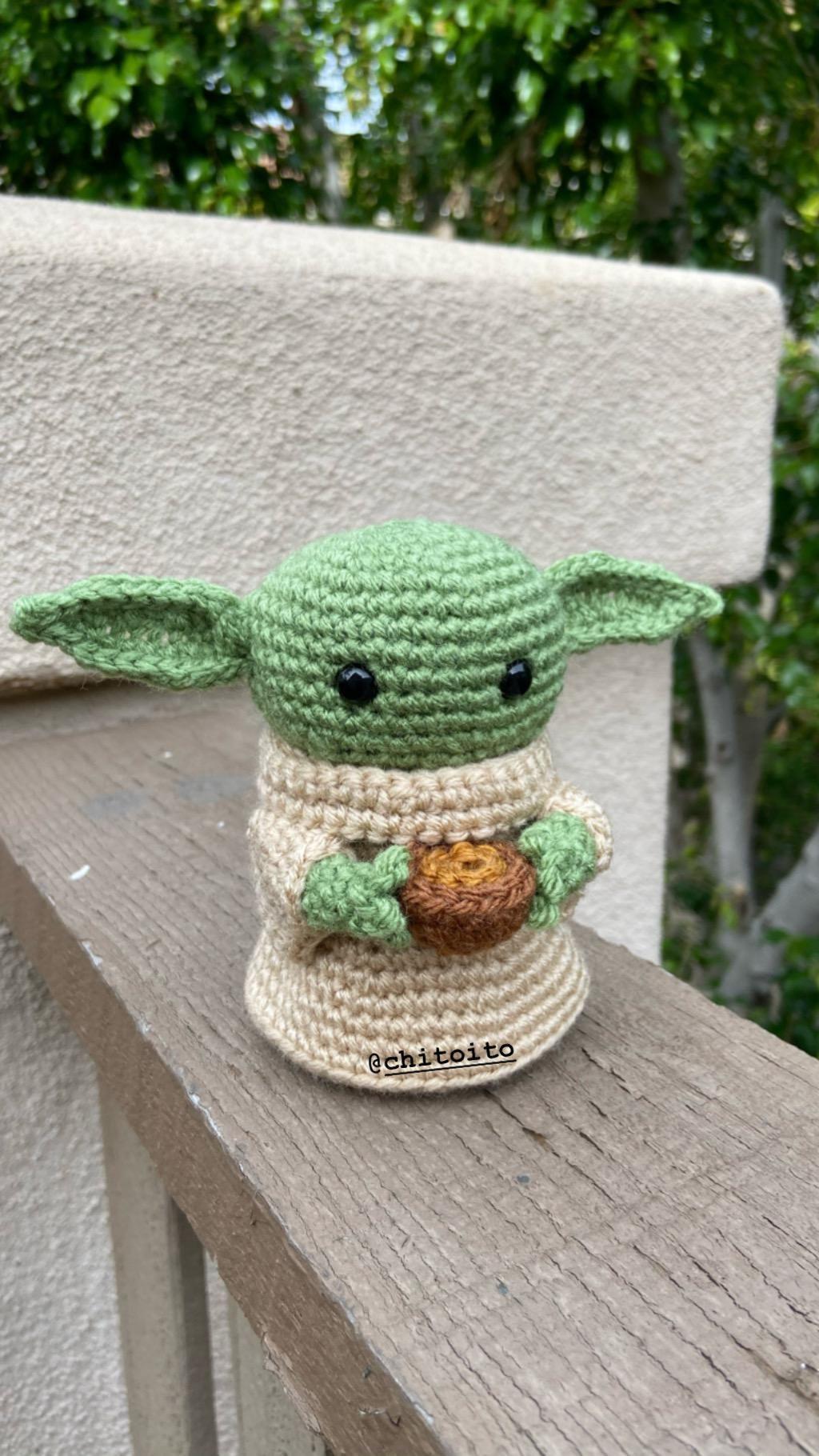 Baby Yoda Episode 4 By Christineito92 Crafts Creative Crochet Diy Handmade Crochet Yoda Yoda Images