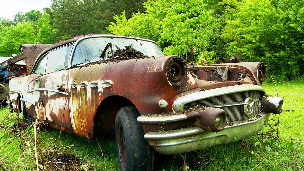 Junkyard 1956 Buick Century Project   American Muscle Cars and More ...