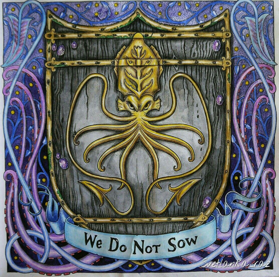 раскраска игра престолов Gotcoloringbook мои работы в