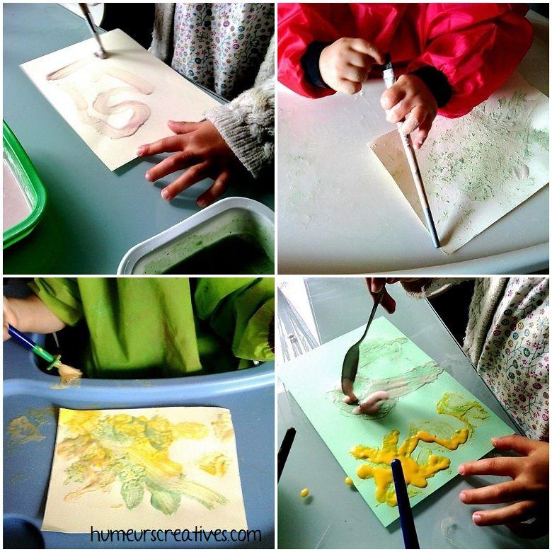 La Peinture Gonflante Puff Paint Peinture Gonflante Peinture Bricolage Pour Enfants Facile