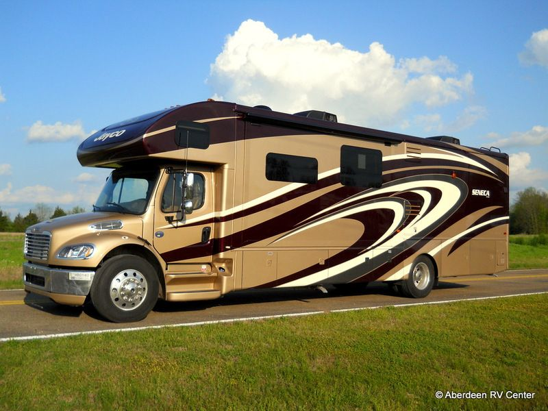 This 2014 Jayco Seneca Is The Most Affordable Class C To Be Built On A Freightliner Chassis For More Information Call 662 Recreational Vehicles Luxury Rv Rv
