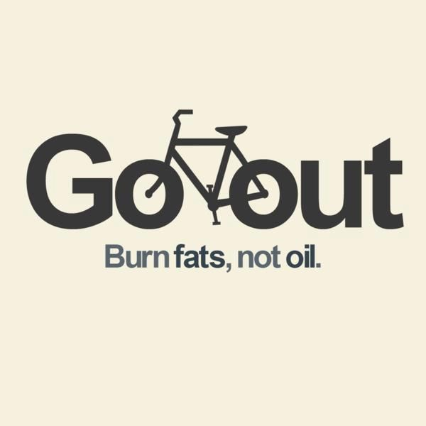 Burn Fats Not Oil Bike Poster Cycling Quotes Bike Quotes
